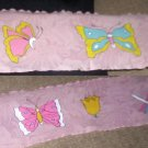 Butterfly Scarf - Pastel & Pink - DDbf