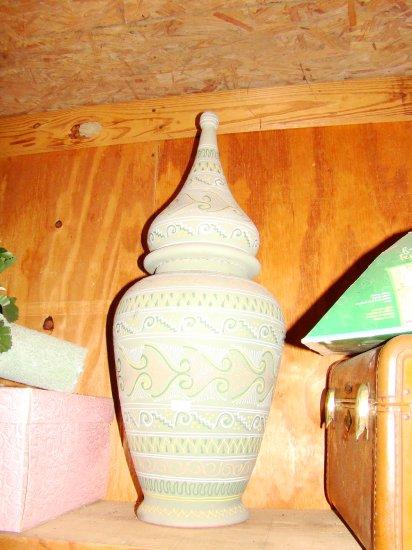 Aztec Print Vase - MXaz