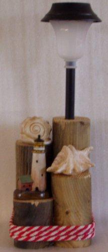 Lighthouse & Seashell Solar Light - CCls