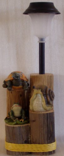 Turtle, Snail & Frog Solar Light - CCts