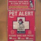 Pet Alert Decals - BBpa