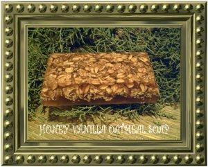 Honey Vanilla Oatmeal Soap - NEhv