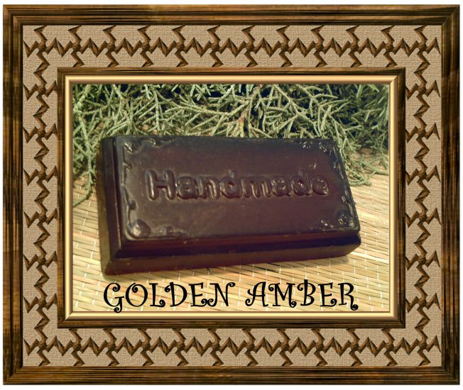 Golden Amber Soy Soap - NEga