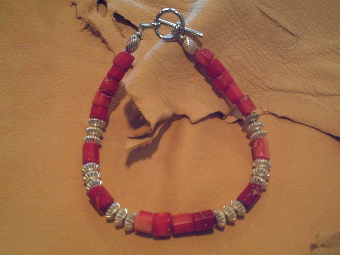 Red Coral Bracelet - EMrc