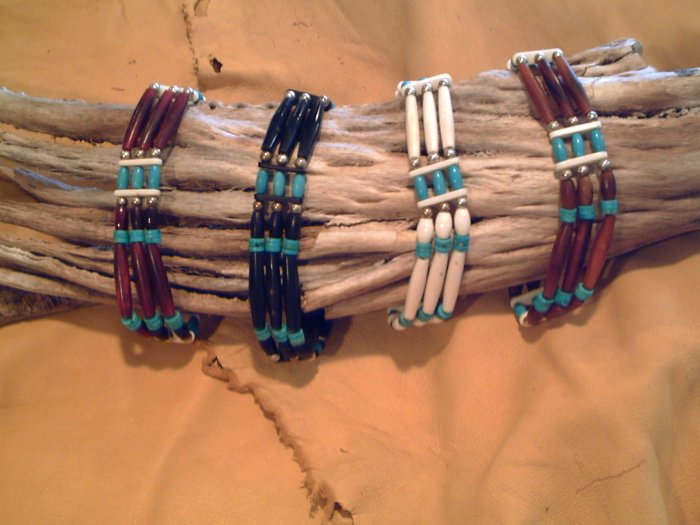 Traditional Hairbone Pipe Chokers - EMpc