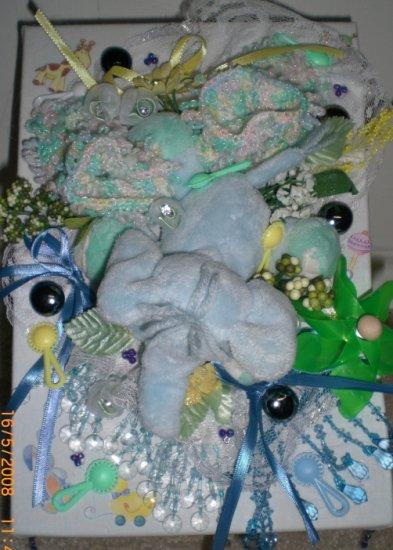 Memory Box for Baby Boy  - ADKba