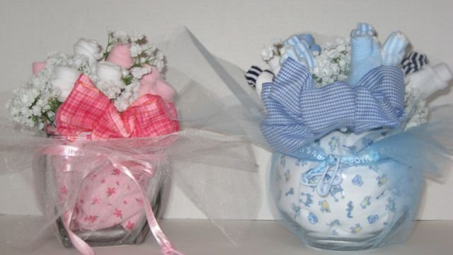Baby Bootie Bouquet  - THbb