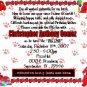 Birthday Party Invitations - THbi