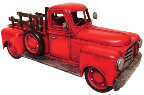 Red Antique Reproduction Truck - CWG111392