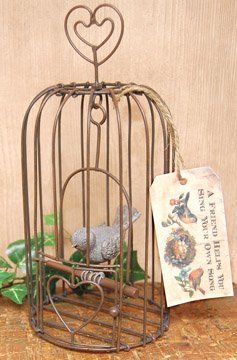 Sing Your Own Song Birdcage - CWG112033
