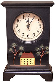 Black House Clock - GPC1110