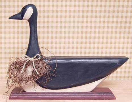 Wooden Canadian Goose - CWG50226