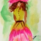 Girl 6 Watercolor - NWg6