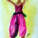 Girl 7Watercolor - NWg7