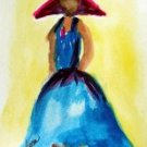 Girl 9 Watercolor - NWg9