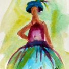 Girl 11 Watercolor - NWg11