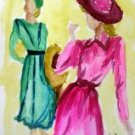 Lady 5 Watercolor - NWl5