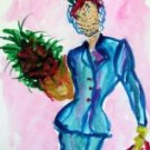 Lady 8 Watercolor - NWl8