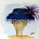 Hat 8 Watercolor - NWh8