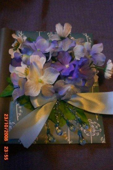 Purple Hydrangea Photo Book - ADKhy
