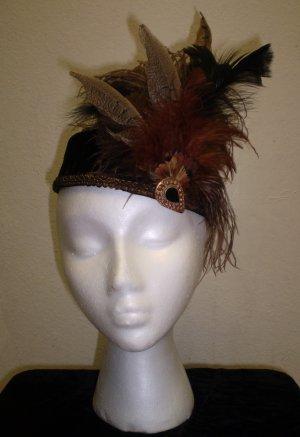 Fancy Feathers Pillbox Hat - BL76/17 - 08