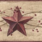 Berry Star Wall Border - CWG98891
