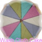 Wash Cloth Cake - TLCwcc