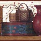 Redware Shelf  Wall Border - CWG15131