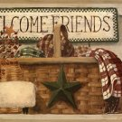 Welcome Friends Wall Border - CWG86166