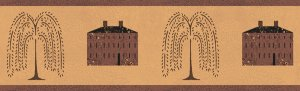 Willow House Wall Border - CWG97445