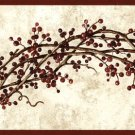 Rosehip Swag Garland Wall Border - CWG77622