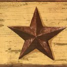 Mustard Barn Star Wall Border - CWG86185