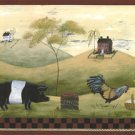 Farm Animals Wall Border - CWG86147
