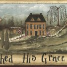 God Shed His Grace Wall Border - CWG71149