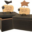 Woolen Mill Sheep Boxes 2/set - CWGRWB6