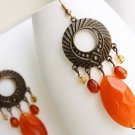 Pumpkin Spice Earrings - UEpu