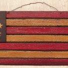 Slat Board  Flag Plaque - 17 x 8 Inch - CWGJHE5615