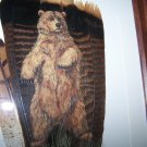 Standing Bear Framed Feather Art - OWsb