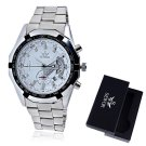 Automatic Watch Sliver Mechanical Sport Wrist Stainless Steel