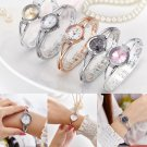 Women Ladies Bracelet Wrist Watches Round Quartz Analog Watch