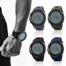 SKMEI Digital Watch Men's LED Military Quartz Analog Sport Wrist Waterproof