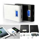 Power Bank Kit LCD Dual USB 5V 12000Mah For Phone