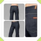 Reduced! New 7 For All Mankind High Waisted Ginger Jeans in Dark Wash Denim