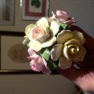 Vintage Royale Stratford English Bone China Rose Bouquet Decorative Collectible