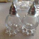 """Imperial Glass """"Candlewick"""" Vintage Elegant Glass Salt & Pepper Shaker Set"""