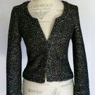 SALE New Banana Republic Black & White Lady Jacket Size 8