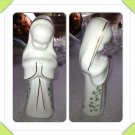 Royal Tara Irish Bone China St.Angelique Praying Figurine With Hand-painted Shamrocks