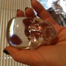 Portland, Oregon Local Studio Art Glass Head Paperweight
