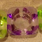 Perfect  Springtime  Set of 3 Butterfly Votives