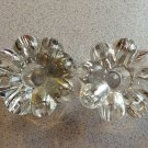 Elegant Glass Heisey Crystolite Pair of Candle Holders in Excellent Condition